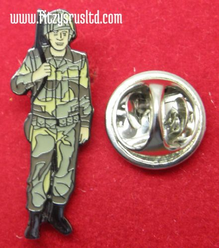 Army Lapel Hat Tie Cap Pin Badge Soldier Armed Forces Combat Fighter Brooch New